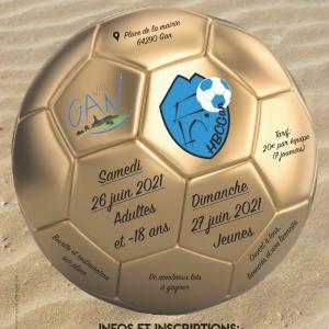 Sandball le 26 et 27 Juin 2021 à Gan (Ouvert à tous)