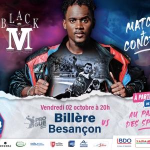 BHB / Besançon + Black M au Palais le 2 Octobre 2020
