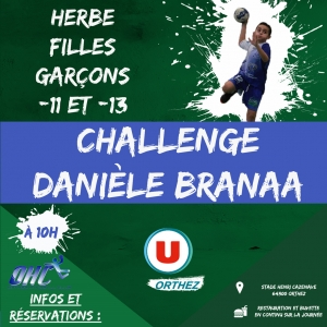 Le Sandball 2020 et le Challenge Danièle Branaa à Orthez
