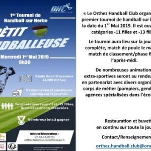 Orthez Handball Club : Tournoi Sur Herbe